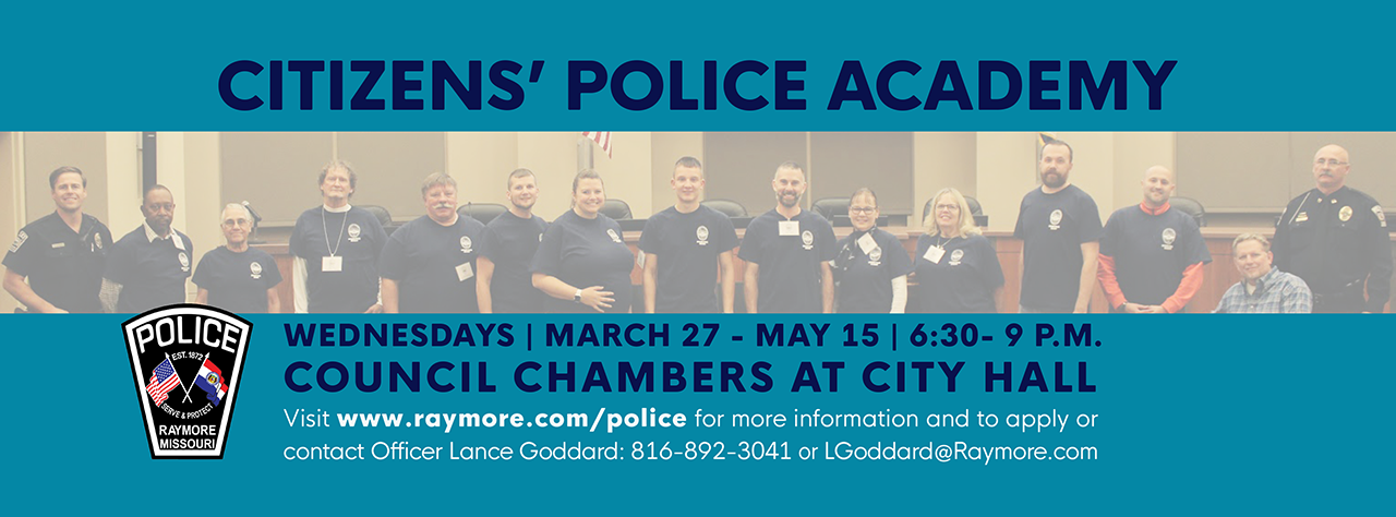 2019 citizens police academy