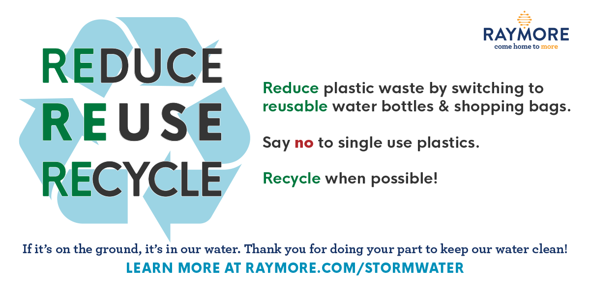 reduce reuse recycle stormwater