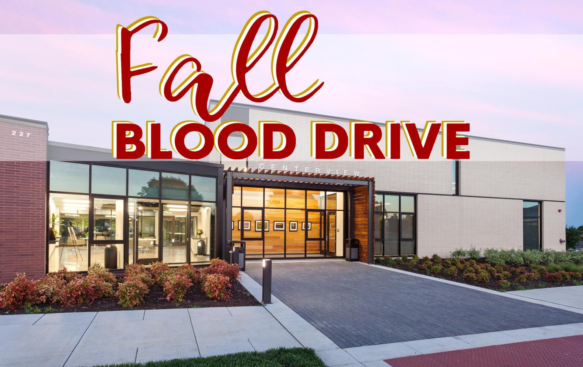 Centerview_fall blood drive