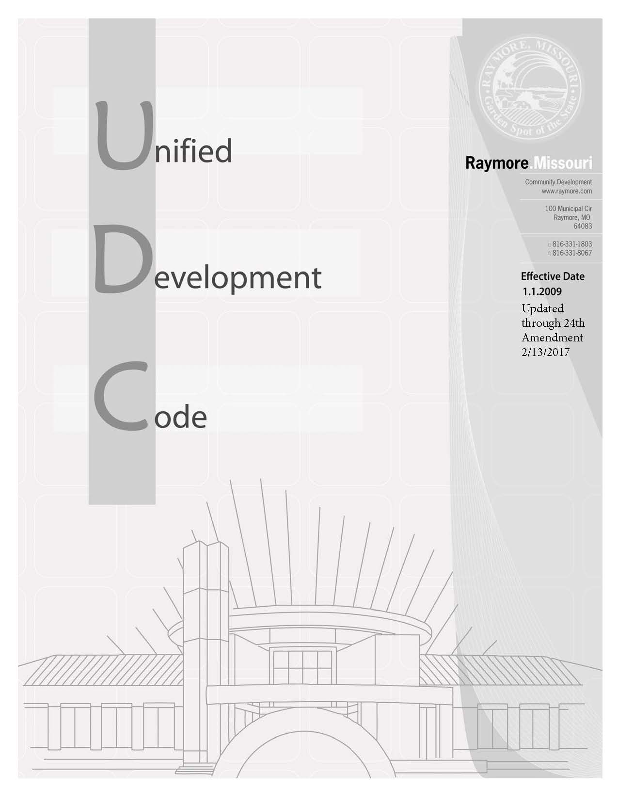 UDC cover