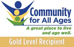 Community For All Ages Gold Level Recipient